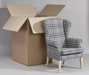jak pakujemy fotel komikowy Uszak